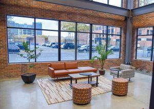 Coworking Office lobby Buffalo, NY