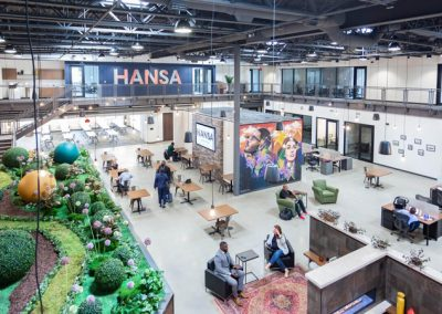 HANSA Offers Coworking, Private Offices & Meeting Rooms for All Types of Businesses