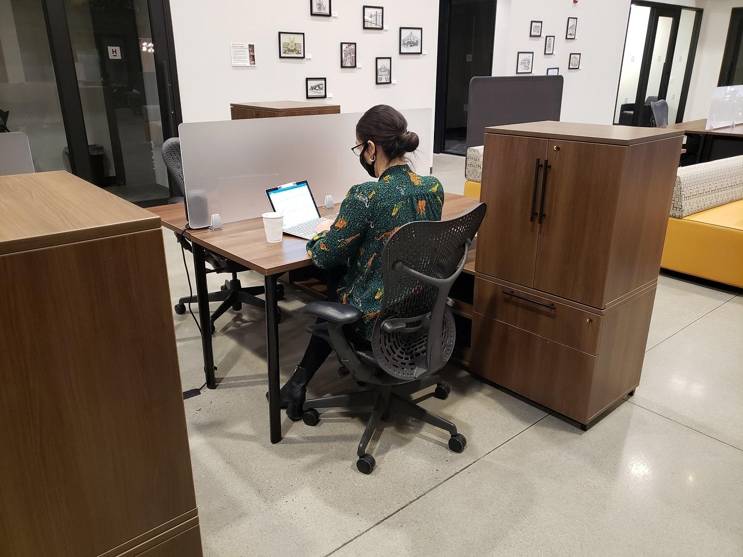 Dedicated Desk Coworking Office